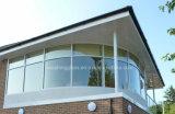 Ненесущая стена прокатанного стекла безопасности конструкции изогнутая Tempered PVB здания