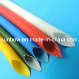Fibra de vidrio Uno mismo-Extinguible del silicón de la aprobación de la UL que envuelve para los alambres eléctricos