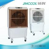 Projeto portátil evaporativo do refrigerador de ar com as almofadas Cooing elevadas