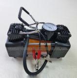 금속 바디를 가진 두 배 실린더 차 공기 압축기
