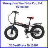 Bici eléctrica de la suciedad de 20 de la pulgada del neumático gordo bicis del híbrido con la batería ocultada