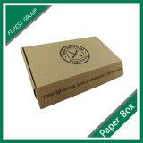 Cadre réutilisé par 100% de papier de Brown emballage avec l'impression et la garniture intérieure de logo