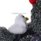 Gros jouet de poulet bourré par vente chaude avec le poussin