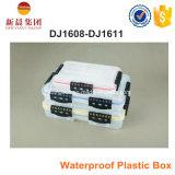 Scatola di plastica impermeabile non tossica trasparente