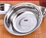 Bacia de mistura do aço inoxidável de produto comestível/bacia de sopa