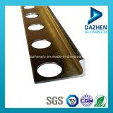 Profil en aluminium d'extrusion de bonne vente chaude des prix pour la garniture de tuile