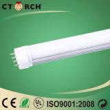 Alluminio di Ctorch LED ed indicatore luminoso della spina del coperchio SMD 2835 10/15/20/30W LED 2g11 del PC