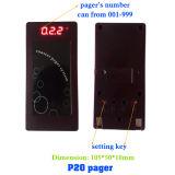 台所キューのポケベルシステム無線ブザーの携帯呼出器