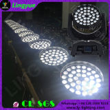 Lingyue DJ Disco Zoom Stage feixe de luz 36PCS LED 10W Moving Head Wash