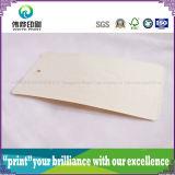 Étiquette de papier gravante en relief de coup d'impression de belle mode (pour le vêtement)