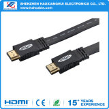 5FT Balck Flat Cable HDMI para STB