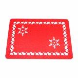 3mm & 5mm 100% Polyester Placemat voor de Decoratie van het Tafelblad en van Kerstmis