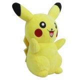 Giocattolo alla moda 100% della peluche di Pikachu del cotone
