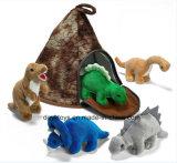 Juguetes encantadores de vida del animal de la felpa de la casa encantadora
