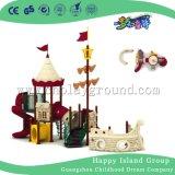 Пластиковые площадка пиратский корабль Открытый площадка для парка развлечений