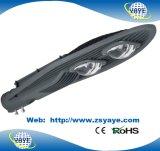 Lâmpada quente da estrada do diodo emissor de luz de /COB 100W da luz de rua do diodo emissor de luz da ESPIGA 100W do preço de fábrica USD73.5/PC do Sell Ce/RoHS de Yaye 18