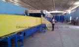 Espuma continua de la esponja automática que hace el fabricante de la maquinaria
