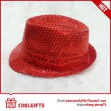 Chapeau de paille de papier fondamental de Trilby avec le type coloré (CG200)