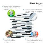 Il vetro macchiato dei condomini del mosaico fornisce le mattonelle della parete dell'oceano