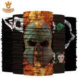 Progettare la vostra propria multi sciarpa del poliestere del cranio di colore