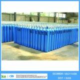 Cilindro do cilindro de gás CNG do CO2 do hélio do argônio do hidrogênio do oxigênio do aço sem emenda (ISO9809 /GB5099)