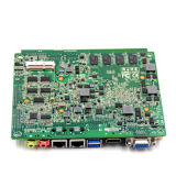 Fanless Intel Atom N455 verdoppeln Kern-Prozessor-Minimotherboard mit Kanal 4*USB
