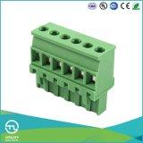 (5.08) conectores de cable plásticos de los bloques de terminales de los conectores del alambre Ma2.5/V5.0