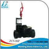 """Vannes électromagnétiques en nylon d'irrigation du pouls 9VDC de Bona Zcs-06p TNP 3/4 """""""