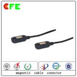 Manufatura magnética Wearable do conetor de potência do produto 2pin