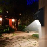 Hot Sale LED Outdoor Lighting com Sensor de Movimento Solar Light Security Wall Lamp