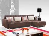 Braços mutáveis e sofá grande da tela do tamanho Cum a base