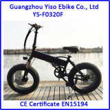 """20 """" [4.0ينش] [250و] [350و] [ليثيوم بتّري] كهربائيّة يخفى بطارية يطوي سمين إطار العجلة دراجة"""
