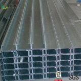 Purlin labiado da canaleta C do material de construção 80X40X2.0mm-380X110X4.0mm C