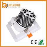 A fábrica AC85-265V 90lm/W de RoHS do Ce do fabricante dirige a lâmpada Recessed 10W interna do diodo emissor de luz do teto do quadrado da ESPIGA da iluminação