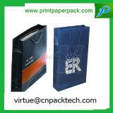 Sac de papier personnalisé par professionnel de cadeau rigide imperméable à l'eau