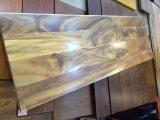 Vorher abgeschlossene natürliche Akazien-Walnuss-festes Holz-Innentreppen-Schritte