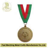 Medalha da forma com uma fita (colhedor)