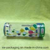 Прозрачная коробка цилиндра для пластичный упаковывать