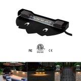 12V 2With5W ETL屋外の防水LEDの景色のステップ壁ライト