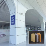 Comitato di parete di alluminio interno ed esterno personalizzato
