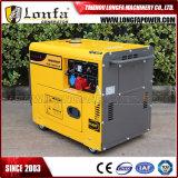 Diesel van het Type 6000W van Kipor 8kVA Stille Produceren het In drie stadia