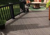 Напольный широко используемый Eco-Friendly покрынный Decking 138*23mm WPC