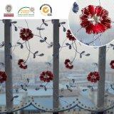 アフリカの気高く多彩で熱い販売の花のレースファブリックC10005