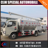 工場販売10m3の飼葉の配達用トラックの家禽はバルク交通機関のトラックを入れる