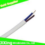 PVC 전기 전기 구리 2core/Twin 및 지구 전화선