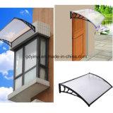 80X100cm populäres im Freien DIY Polycarbonat-Plastikmarkise (YY800-B)