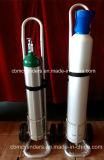 Тележки стационара алюминиевые для цилиндров кислорода