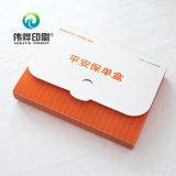 Caixa de empacotamento da impressão do seguro feita do material do PVC