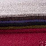 Tela del pelo y de las lanas de Yark con hecho punto para el invierno en gris