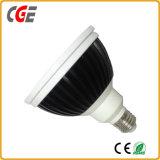 proyector del diseño LED PAR38 del reflector de la MAZORCA de 20W 98ra 1600lm ()
